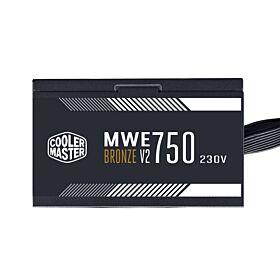 Cooler Master MWE 750 Bronze 230 - V2  750W  Non-Modular PSU | MPE-7501-ACABW-BUK