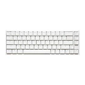 Ducky One 2 SF 65% RGB Pure White Mechanical Keyboard - Cherry MX Red Switch  (Arabic Layout) | DKON1967ST-RARALWWT1