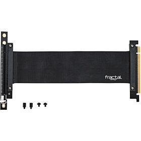 Fractal Design Flex VRC-25 Vertical PCIe Riser Cable Kit | FD-ACC-FLEX-VRC-25-BK
