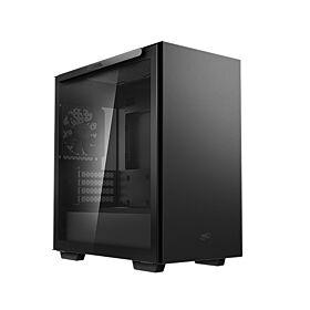 DeepCool Macube 110 Tempered Glass Mid-Tower Micro ATX Case - Black   R-MACUBE110-BKNGM1N-G-1