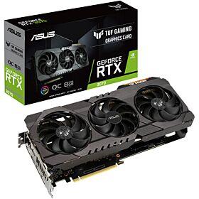 Asus TUF Gaming GeForce RTX 3070 OC V2 LHR 8GB GDDR6 Graphics Card   90YV0FQI-M0NA00