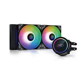 DeepCool GAMMAXX L240 A-RGB AIO Liquid Cooler | DP-H12CF-GL240-ARGB