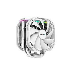 DeepCool AS500 Plus CPU Air Cooler - White | R-AS500-WHNLMP-G