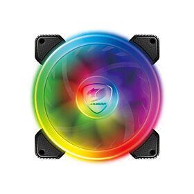 Cougar Hydraulic Vortex RGB SPB 120mm PMW HDB Fan | CG-FAN-VRTX120SPB-RGB