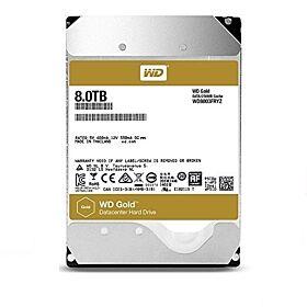 Western Digital WD Gold 8TB Enterprise Class Hard Disk Drive - 7200 RPM Class SATA 6 Gb/s 256MB Cache 3.5 Inch | WD8003FRYZ