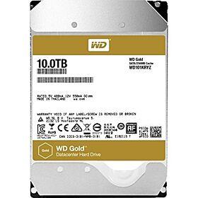 Western Digital WD Gold 10TB Enterprise Class Hard Disk Drive - 7200 RPM Class SATA 6 Gb/s 128MB Cache 3.5 Inch | WD101KRYZ