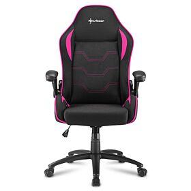 Sharkoon Elbrus 1 Gaming Chair - Black/Pink | S-ELBRUS-1-BK/PK