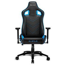 Sharkoon Elbrus 2 Gaming Chair - Black/Blue | S-ELBRUS-2-BK/BU