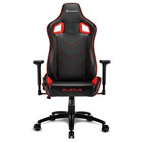 Sharkoon Elbrus 2 Gaming Chair - Black/Red | S-ELBRUS-2-BK/RD