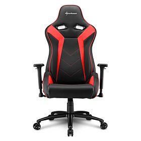 Sharkoon Elbrus 3 Gaming Chair - Black/Red | S-ELBRUS-3-BK/RD