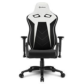 Sharkoon Elbrus 3 Gaming Chair - Black/White | S-ELBRUS-3-BK/WH
