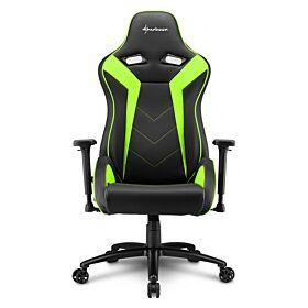 Sharkoon Elbrus 3 Gaming Chair - Black/Green | S-ELBRUS-3-BK/GN