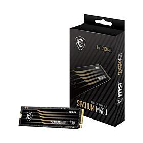 Msi Spatium M480 1TB PCIe 4.0 NVME M.2 SSD | S78-440L490-P83