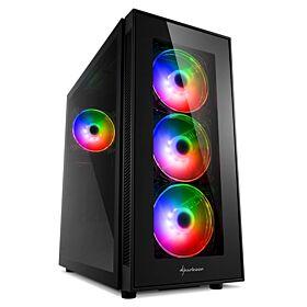 Sharkoon TG5 Pro RGB ATX Case | S-TG5-PRO-RGB