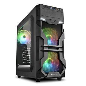 Sharkoon VG7-W RGB ATX Case | S-VG7-W-RGB