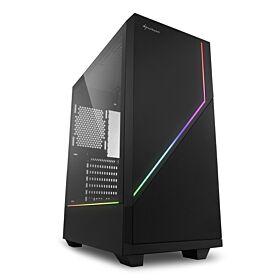 Sharkoon RGB Flow ATX Gaming Case | S-RGB-F-AC