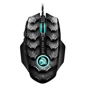 Sharkoon Drakonia II Black Gaming Mouse | S-DII-B-M