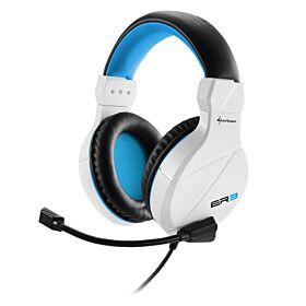 Sharkoon Rush ER3 Stereo Gaming Headset - White | S-R-ER3-GH-W