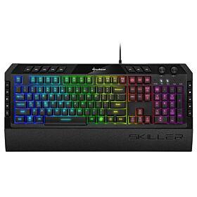 Sharkoon Skiller SGK5 Rubber Dome Gaming Keyboard | S-S-SGK5