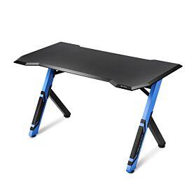 Sharkoon Skiller SGD1 Gaming Desk - Blue/Black | S-S-SGD1-BB