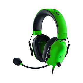 Razer BlackShark V2 X 7.1 Multi-Platform Wired Gaming Headset - Green | RZ04-03240600-R3M1