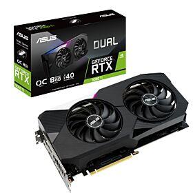 ASUS Dual GeForce RTX 3060 Ti OC Edition 8GB GDDR6 Graphic Card | 90YV0G12-M0NA00