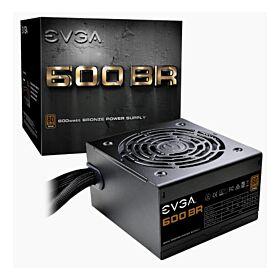 EVGA 600 BR 80+ BRONZE Certified 600W Power Supply | 100-BR-0600-K3