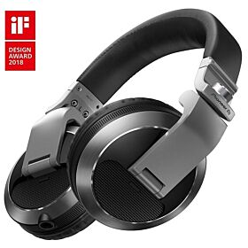 Pioneer HDJ-X7 Professional over-ear DJ headphones (silver) | HDJ-X7-S