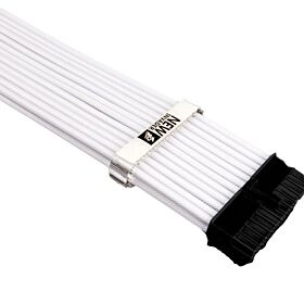 1st Player Steampunk MOD Sleeved Extension Cable - White | QHP-0001(White)