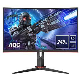 "AOC C32G2ZE FHD 31.5"" 240Hz 1ms VA panel Gaming Monitor | C32G2ZE/BK"