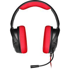 Corsair HS35 Stereo Gaming Headset - Red | CA-9011198-NA