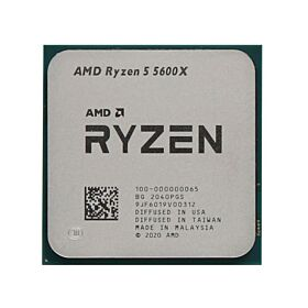AMD Ryzen 5 5600X 6 Cores,  12 Threads Desktop Processor - Tray  | 100-100000065