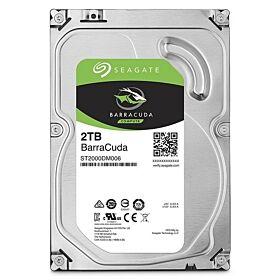 Seagate 2TB BarraCuda SATA 6 Gb/s 7200 RPM 64MB Cache 3.5 Inch Desktop Hard Drive | ST2000DM006
