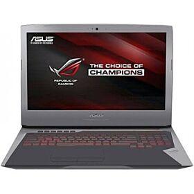 ASUS ROG (Intel Core i7 7820HK 2.9GHz 64GB 1TB+1TSS 17.3 UHD WL 8GB GTX1070 BT+CAM WINDOWS10 CASE)   G752VS-GB311T-GRY