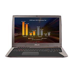 ASUS ROG G701VIK (Intel Core i7 7820HK 2.9GHz 64GB 1TSSD 17.3 UHD WL 8GB GTX1080 BT+CAM WINDOWS10 CASE)   G701VIK-GB043T-GRY