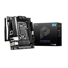 Msi H510I Pro-Wifi LGA 1200 Mini-ATX Motherboard | H510I Pro-Wifi