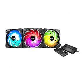MSI MAX F12A-3H Addressable RGB Fan x3 | MAX F12A-3H
