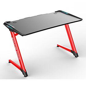 1ST Player RGB GT1 Gaming Desk - Black / Red