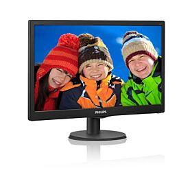 Philips 203V5LSB2 20-inch LED Monitor 1600x900 5ms LCD Monitor | 203V5LSB2