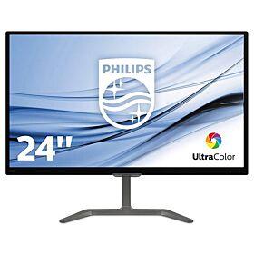 Philips 246E7QDAB 23.6-inch Full HD 5ms IPS Monitor - Black | 246E7QDAB
