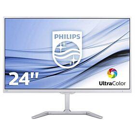 Philips 246E7QDSW 23.6-inch Full HD 5ms IPS Monitor - White | 246E7QDSW