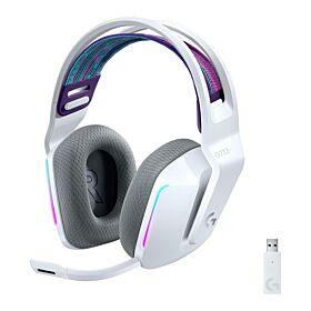 Logitech G733 LightSpeed Wireless RGB Gaming Headset - White | 981-000882