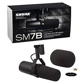 Shure SM7B SM7B Vocal Microphone - Cardioid | Dynamic