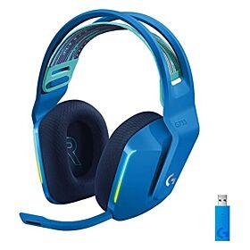 Logitech G733 LightSpeed Wireless RGB Gaming Headset - Blue | 981-000943