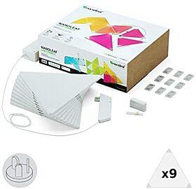 Nanoleaf Light Panels Rhythm Edition Smarter Kit - 9 Panels