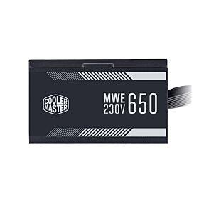 Cooler Master MWE 650 White 230 - V2  650W  Non-Modular PSU | MPE-6501-ACABW