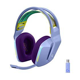 Logitech G733 LightSpeed Wireless RGB Gaming Headset - Lilac | 981-000890