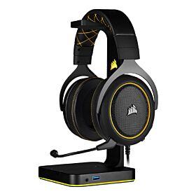 Corsair HS60 Pro Surround Gaming Headset - Yellow | CA-9011214-NA