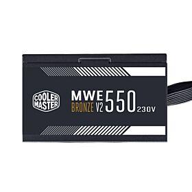 Cooler Master MWE 550 Bronze 230 - V2  550W  Non-Modular PSU | MPE-5501-ACABW-B