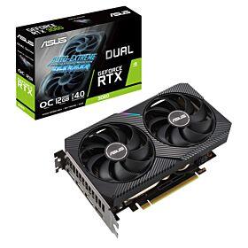 Asus GeForce RTX 3060 Dual OC Edition 12GB V2 GDDR6 Graphics Card | 90YV0GB2-M0NA10